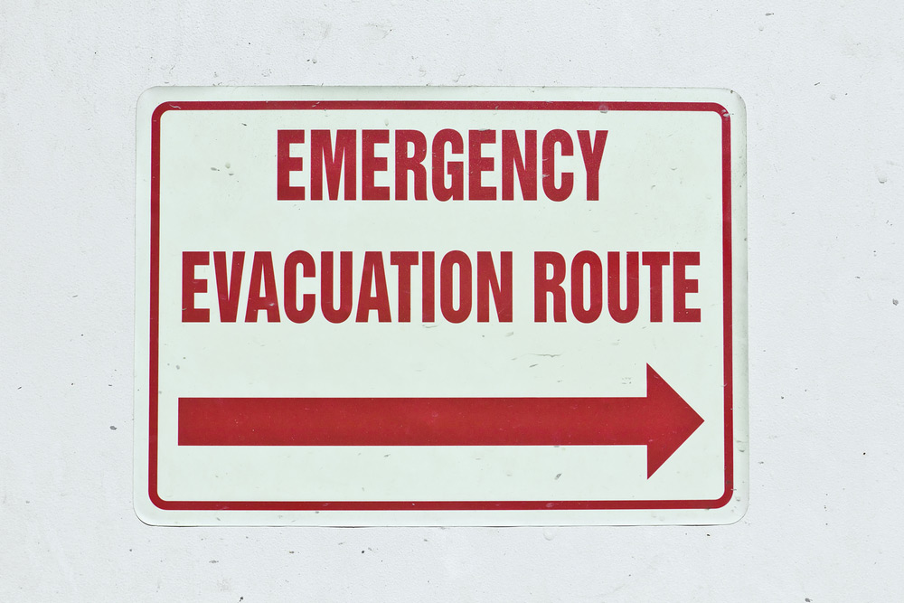 Emergency evacuation plan roles and responsibilities